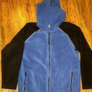 Boys size M Arizona zip up fleece